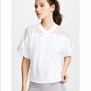 NWT Adidas Stella McCartney Mesh Yoke Tee